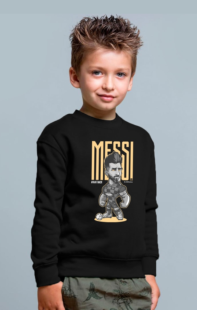 Messi Kids sweatshirt black